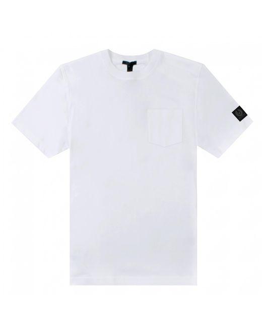 Belstaff White Thom T-shirt for men