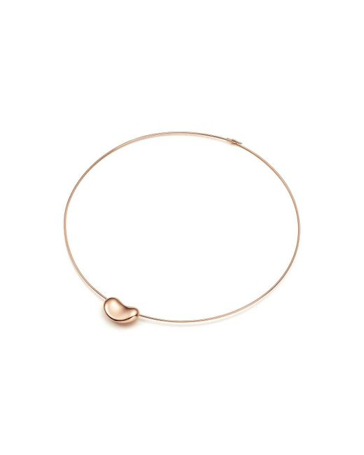Tiffany & Co   Metallic Bean Wire Necklace   Lyst