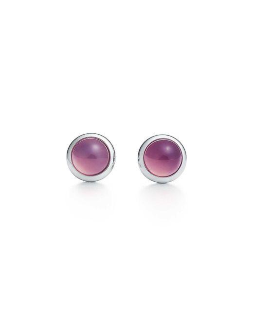 Tiffany & Co - Metallic Color By The Yard Earrings - Lyst