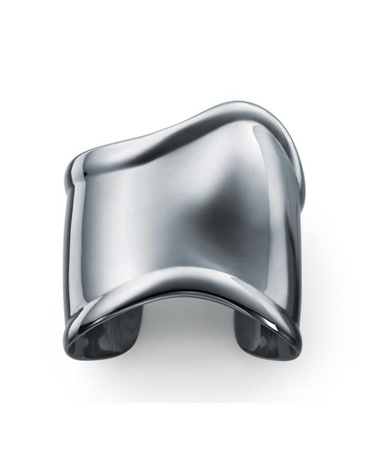 Tiffany & Co | Gray Bone Cuff | Lyst