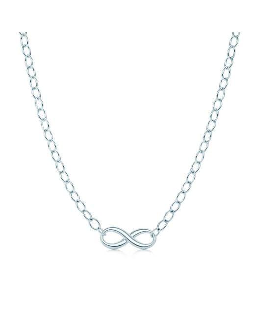 Tiffany & Co   Metallic Necklace   Lyst