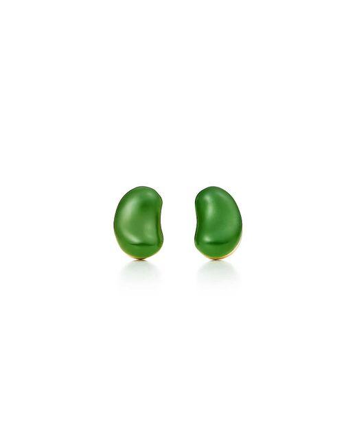 Tiffany & Co | Metallic Bean Earrings | Lyst