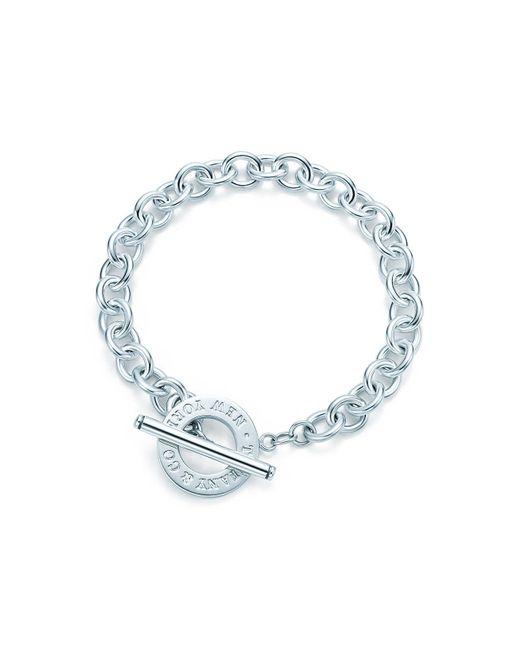 Tiffany & Co | Metallic Toggle Bracelet | Lyst