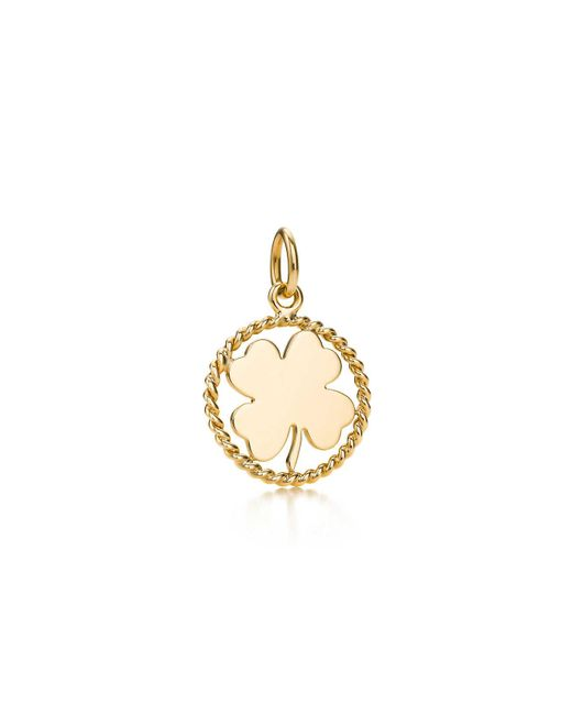 Tiffany & Co | Metallic Clover Charm | Lyst