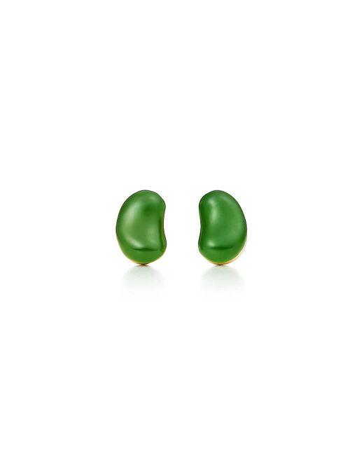 Tiffany & Co - Metallic Bean Earrings - Lyst