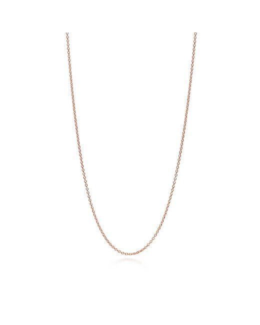 Tiffany & Co - Metallic Chain In 18k Rose Gold - Size 30 In - Lyst