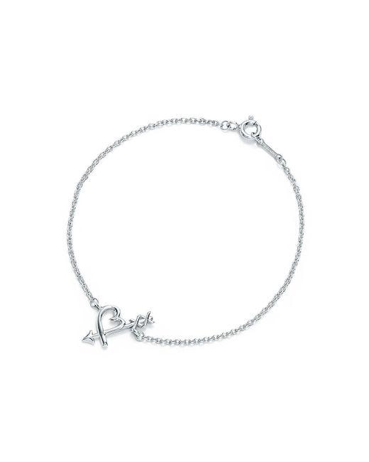 Tiffany & Co | Metallic Loving Heart Arrow Bracelet | Lyst