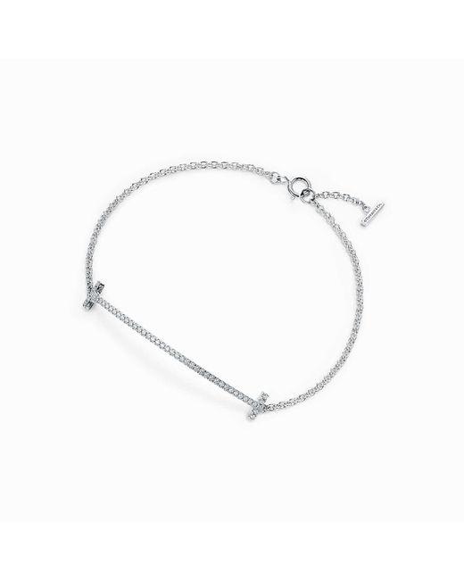 Tiffany & Co | White Smile Bracelet | Lyst