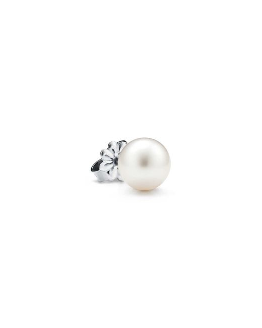 Tiffany & Co Metallic Ziegfeld Collection Pearl Earrings
