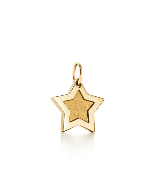 Tiffany & Co | Metallic Super Star Charm In 18k Gold | Lyst