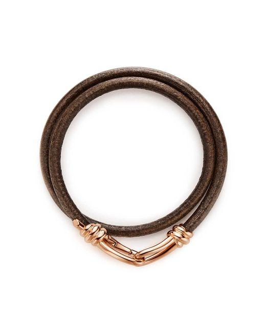 Tiffany & Co - Metallic Knot Wrap Bracelet - Lyst