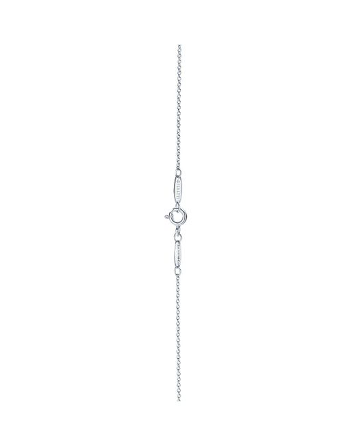 Tiffany & Co Metallic Elsa Peretti® Infinity Cross Pendant