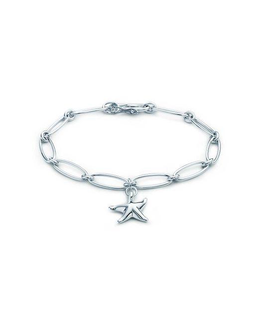 Tiffany & Co - Metallic Starfish Bracelet - Lyst