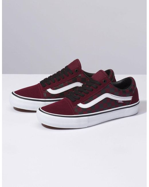 12c560eb047 ... Vans - Multicolor The Rubber Print Old Skool Pro Port Royal Shoes for  Men - Lyst ...