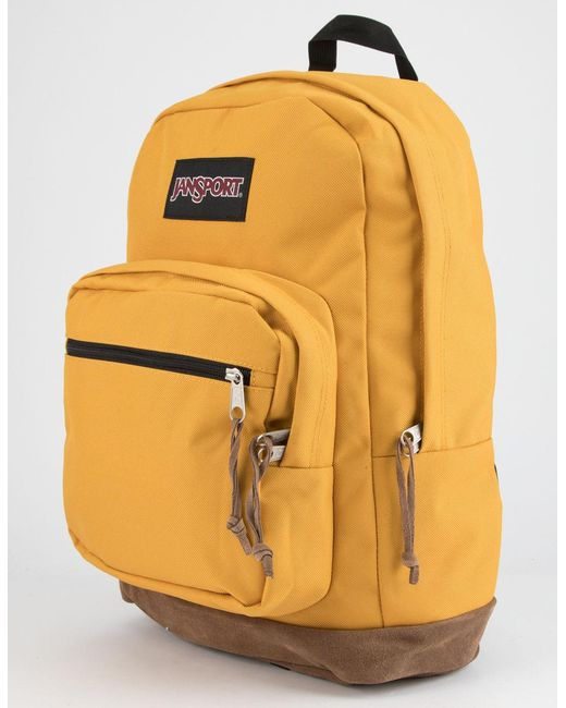 6ebf9fc80b Men's Yellow Right Pack English Mustard Backpack