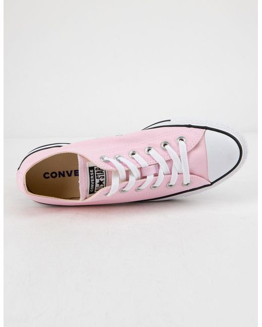 8096995d9ab8 ... Converse - Chuck Taylor All Star Pink Foam Womens Low Top Shoes - Lyst  ...