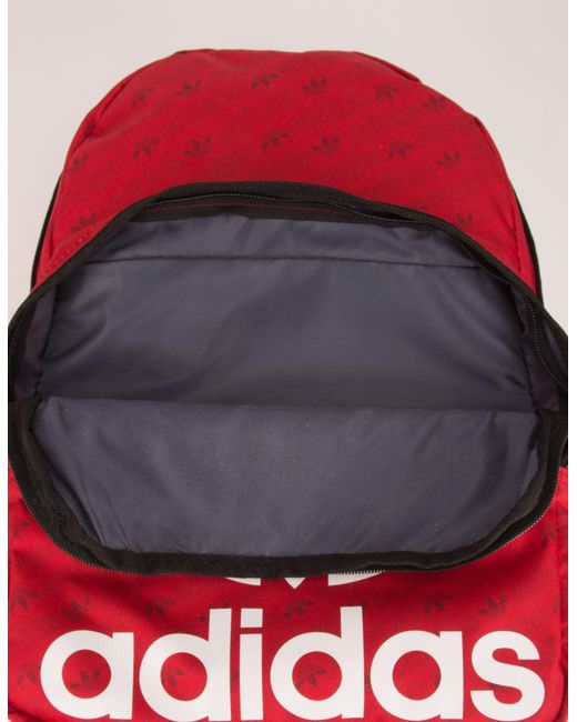 ADIDAS Originals Trefoil Backpack RED 5145626 | Tillys