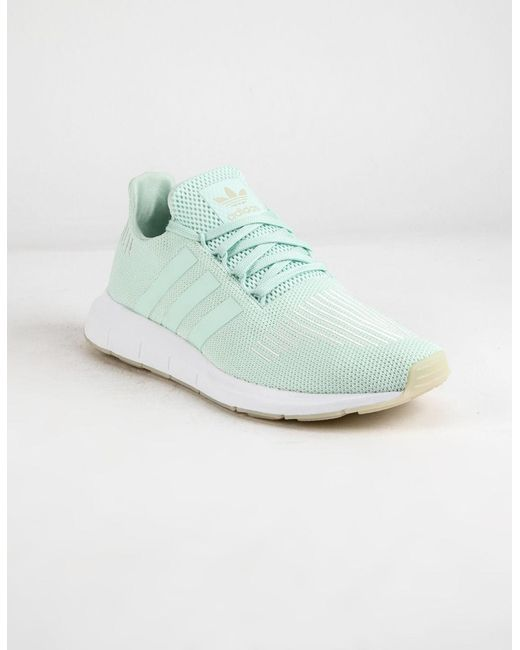 adidas Originals adidas Originals Swift Run (WhiteWhiteWhite) Women's Shoes from Zappos | Real Simple