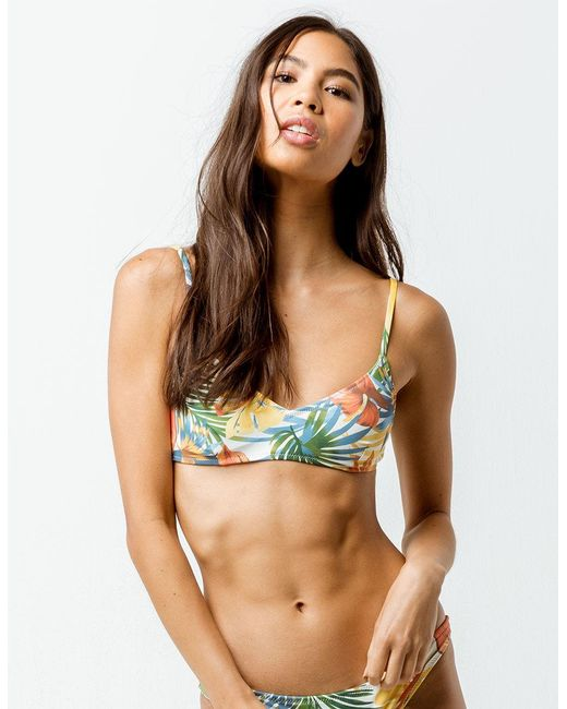 203596171fc Rhythm - Multicolor Tropicana Trilet Bikini Top - Lyst ...