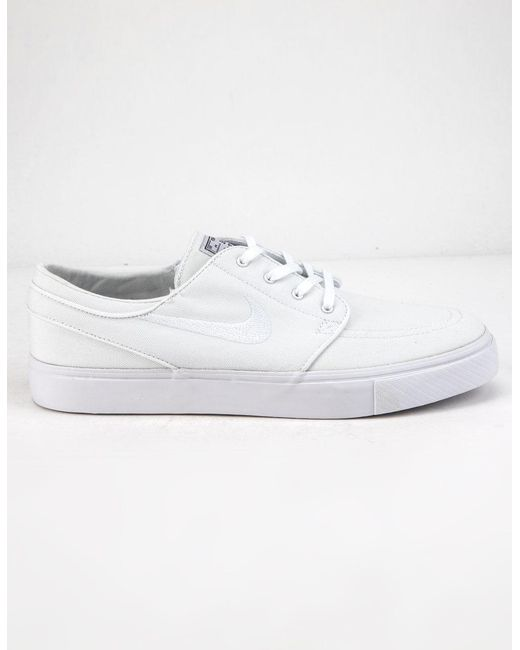4bf6831a3d25d Zoom Janoski Canvas Rm White Mens Shoes
