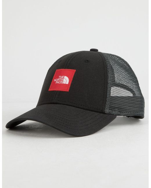 20d044d7e1e52 Lyst - The North Face Box Logo Trucker Hat in Black for Men - Save 32%