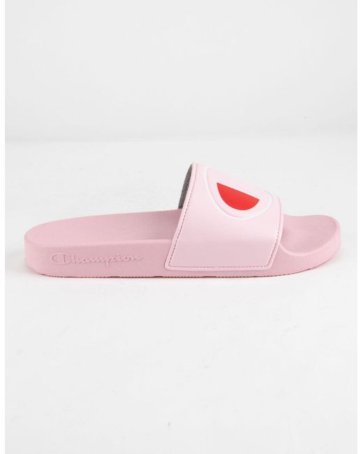 ad222a334ff ... Champion - Ipo Pink Womens Sandals - Lyst ...
