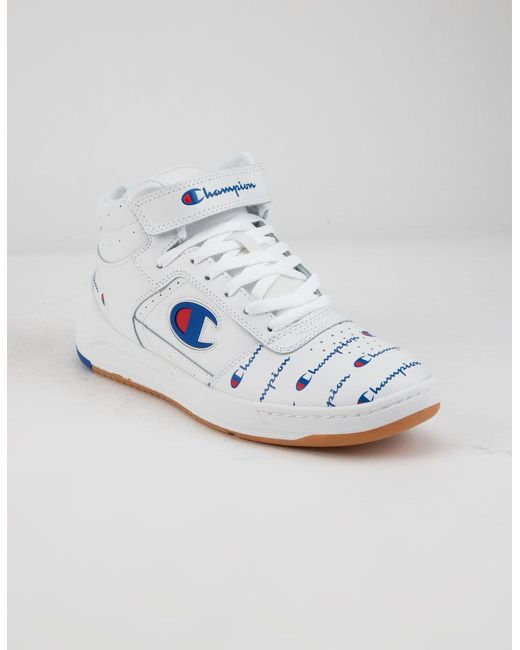 f6beedba5 Lyst - Champion Super C Court High Top Sneakers in White - Save 1%