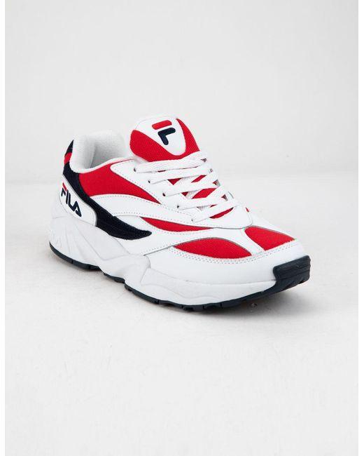 Women's Red Venom Mesh & Leather Sneakers