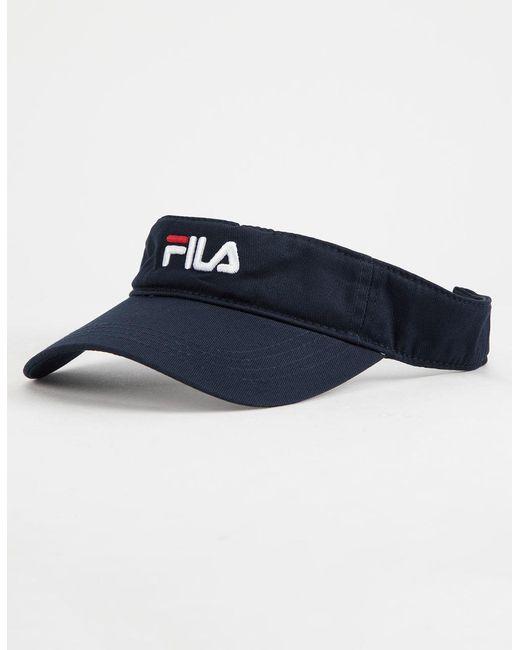 Fila - Blue Visor - Lyst