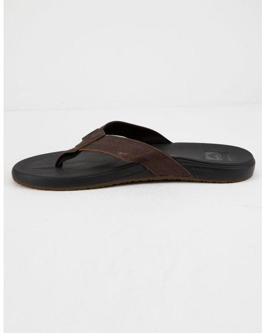 Brown Cushion Bounce Phantom Mens Sandals