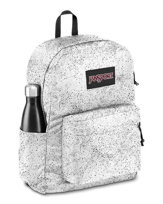 Jansport Ashbury Speckled Backpack in Black/White (Black