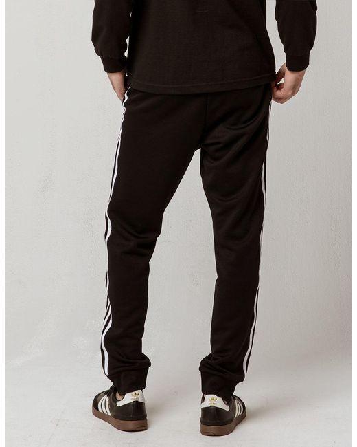 4e7f60e7c ... Adidas - Black Originals Side Stripe Mens Track Pants for Men - Lyst ...