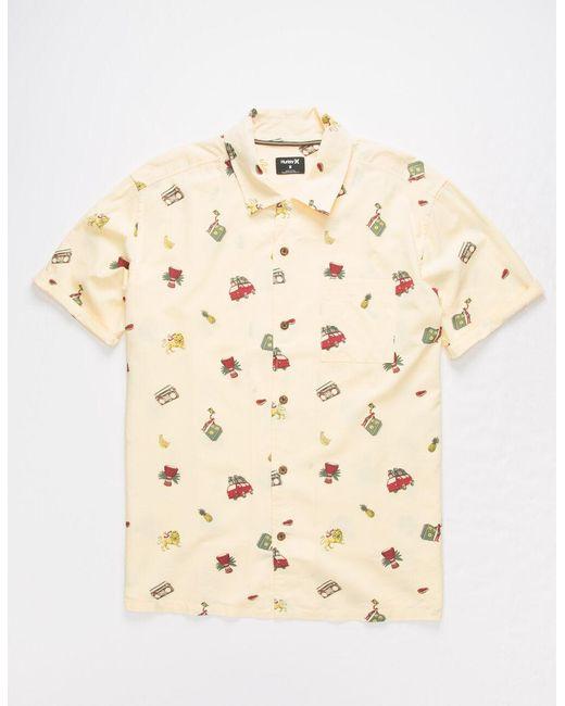 Hurley Natural Kingston Mens Shirt for men