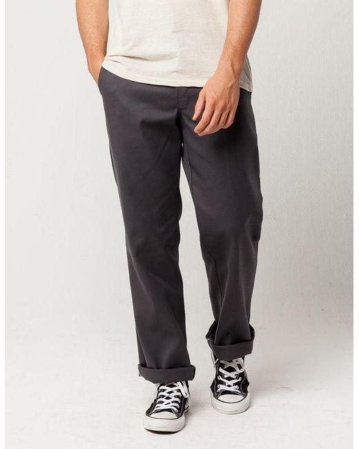 db8f7c1f2a Dickies - Gray 874 Flex Original Fit Mens Pants for Men - Lyst ...
