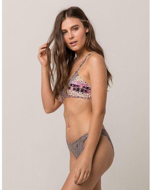 O'neill Sportswear - Multicolor Zanzibar Reversible Hipster Bikini Bottoms - Lyst