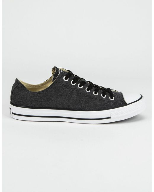 Converse Chuck Taylor All Star Black & White Low Top Shoes for men