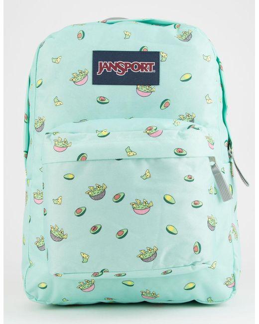 Jansport - Multicolor Superbreak Avocado Party Backpack - Lyst