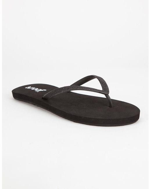 Reef | Black Stargazer Womens Sandals | Lyst