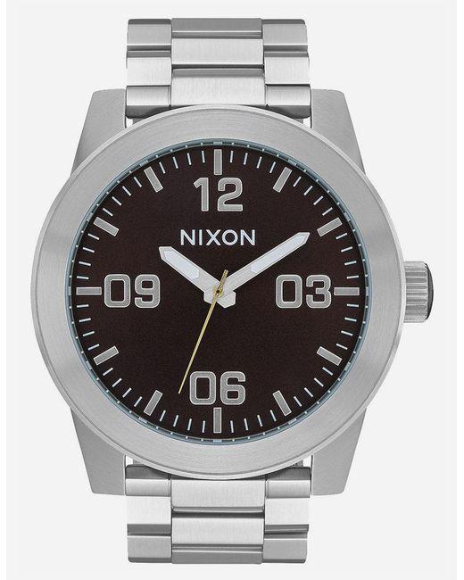 Nixon Multicolor Corporal Ss Dark Cedar Watch for men