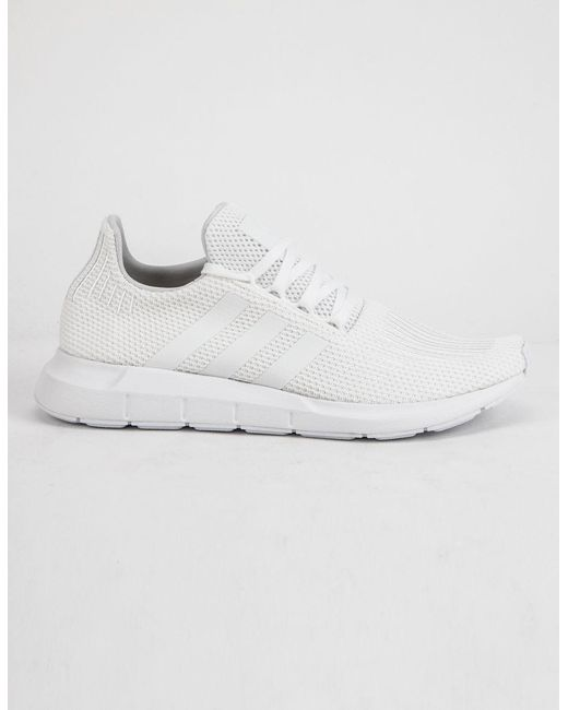 fec873fd4 Lyst - adidas Swift Run White Shoes in White