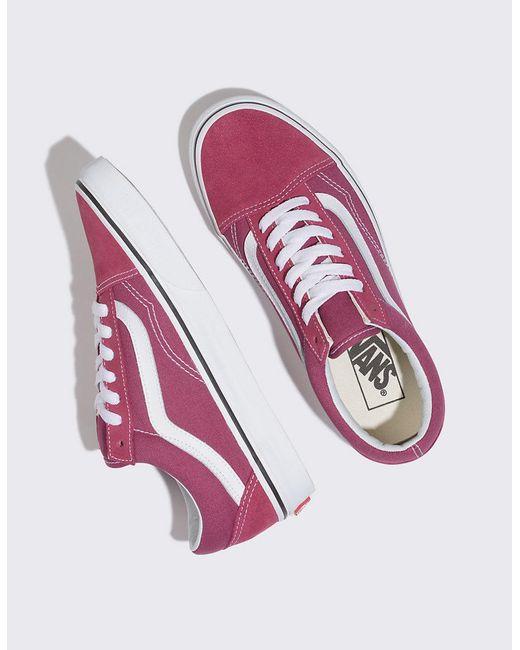 2db9dbb72a0 ... Vans - Multicolor Old Skool Dry Rose   True White Womens Shoes ...