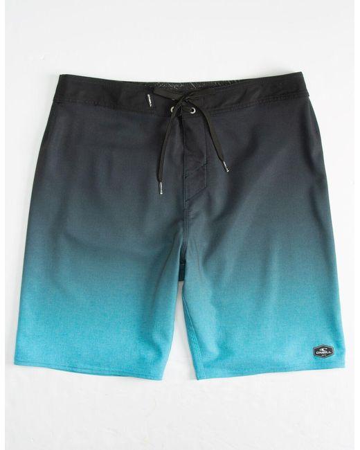 O'neill Sportswear Hyperfreak Solid Gradient Blue Mens Boardshorts for men