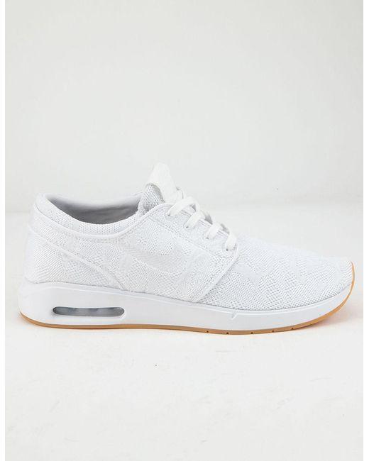 Max Stefan Shoes 2 Yellow Air gum Men's Janoski WhiteWhite