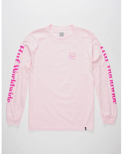 Huf | Pink Domestic Mens T-Shirt for Men | Lyst