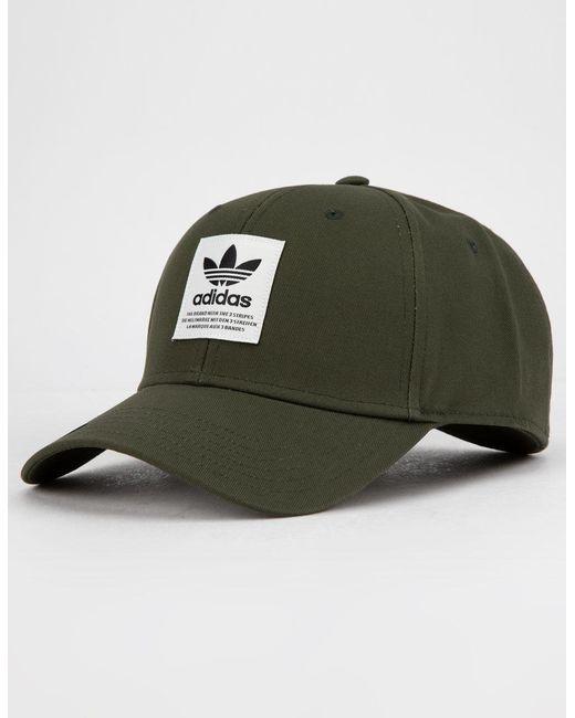 974a9faa4 Green Originals Trefoil Patch Night Cargo Mens Snapback Hat