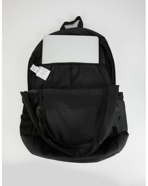 Men's Curb Black Backpack