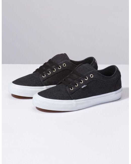 8f46898686f0 ... Vans - Denim Chukka Low Black   Pewter Shoes for Men ...