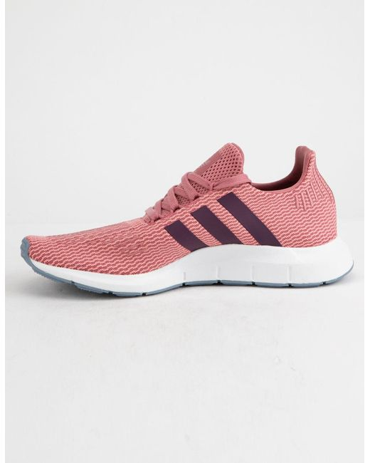 75c04175af396 Lyst - adidas Swift Run Trace Maroon   Red Night Womens Shoes in Red