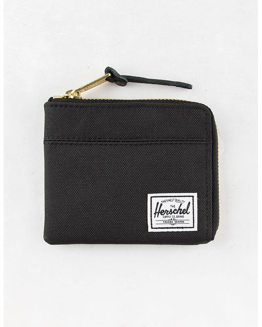 Herschel Supply Co. Black Johnny Wallet