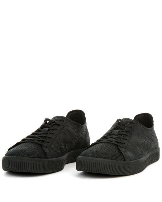 the best attitude a0f0b 1b5ea Men's Black X Stampd Clyde Sneaker
